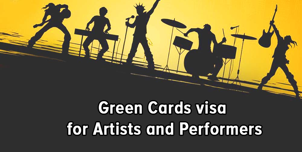 Green Cards for Artists and Performers